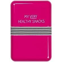 Happy Jackson 'Healthy Snacks' Lunch Box | Pink