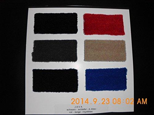 Fussmatten Automatten passend für Citroen mit Stick Fahrer und Beifahrermatte Velours Fußmatten / Autoteppiche Mattenfarbe wählbar (05 Schiefer-grün)