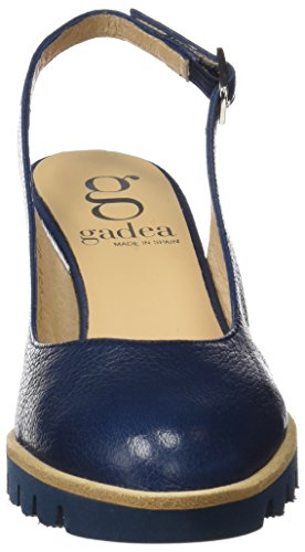 Gadea 40547, Chaussures à Talon avec Bout Fermé Femme Bleu
