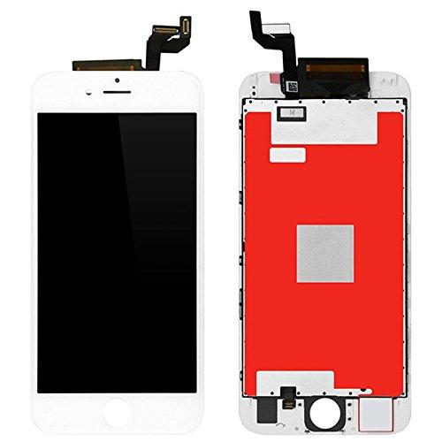 Image of Display LCD Komplett Einheit Touch Panel für Apple iPhone 6S 4.7 Zoll Weiß Ersatz Glas + Opening Tool Werkzeug