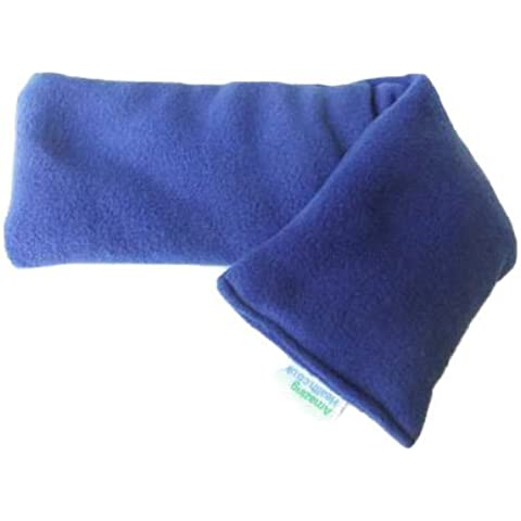 Unscented Microwave wheat bag-UK Made - NON Scented Blue Made in England