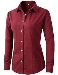 Amazon Ropa Tops Y Blusas Camisas Blusas es Camisetas Amazon PwxqH5