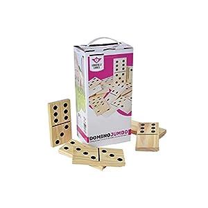 Engelhart 250140 - Jumbo Domino, Juego de Habilidad
