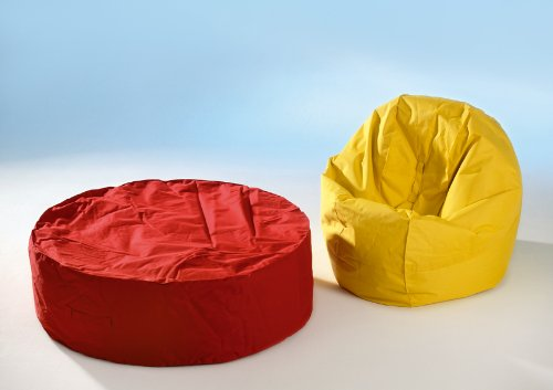 Sitzsack Chillout Bag Modell Medium rot
