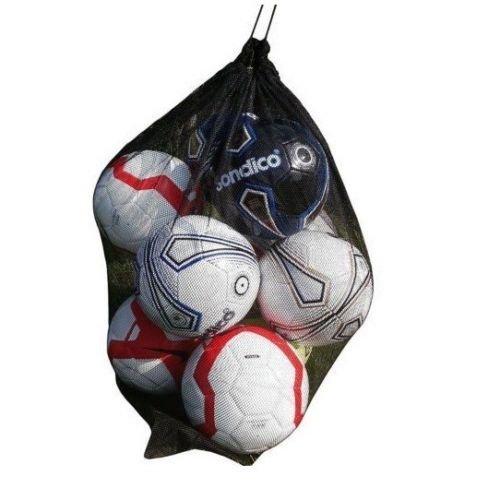 20 Ball Mesh Carry Sack Football Netball Carry Bag Netbag with drawstring closure