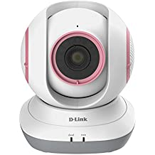 D-Link EyeOn Baby HD 360 - Cámara de vigilancia Wi-Fi para bebé con termómetro y nanas, color surtido