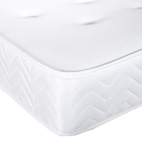 Vogue Beds Skyline Pocket 1000 Mattress, Single, 90 x 190 cm, White