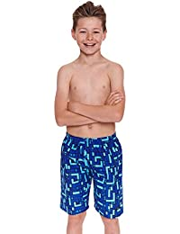 Zoggs Boy's Grid Work Shorts
