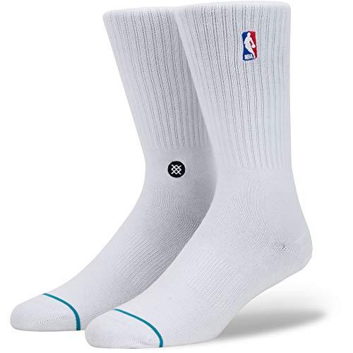 Nba Logoman Crew Socken white Größe: M Farbe: white - Und Schuhe Männer Frauen Jordan