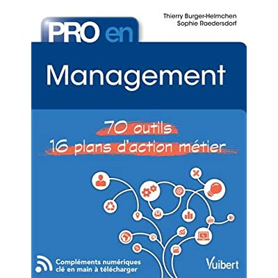 Pro en Management : 70 outils - 16 plans d'action métier