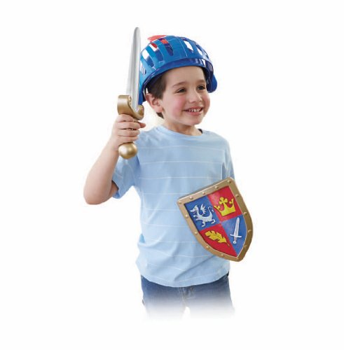 Fisher Price Mike the Knight Explore n Train Helmet SetFisher Price Mike the Knight Explore n Train