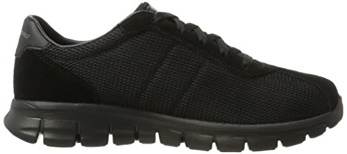 Skechers Synergy-Case Closed, Scarpe Running Donna Nero (Black)