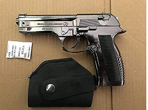 608 Leather Machine Pistole Feuerzeug NEU -