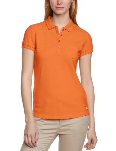 Mustang Damen Poloshirt 8017-1546-Polo, Gr. 34 (XS), Orange (nasturtium 756)