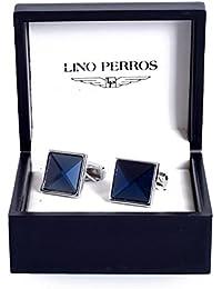 Lino Perros Blue Cufflinks