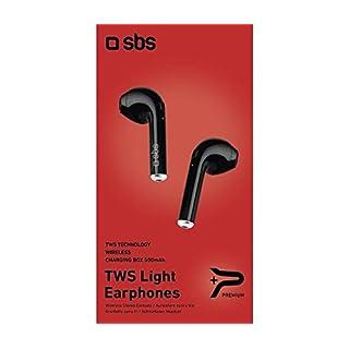 SBS Kopfhörer-Headset Bluetooth Twin Earset schwarz Wireless 41