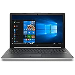 "HP Notebook 15-da0028ns - Ordenador Portátil 15.6"" HD (Intel Core i3-7020U, 8 GB RAM, 1 TB HDD, Intel Graphics, Windows 10), Color Plata - Teclado QWERTY Español [España]"