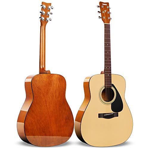 Yamaha F310 Westerngitarre natur – Hochwertige Dreadnought-Akustikgitarre für Erwachsene & Jugendliche – 4/4 Gitarre aus Holz