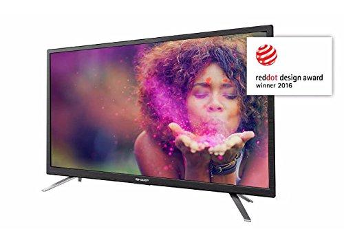 Sharp LC-24CFG6132EM Tv 24'' Full HD Smart TV Wi-fi HEVC, DVB-T/T2/C/S2, 12V car adapter and RF antenna