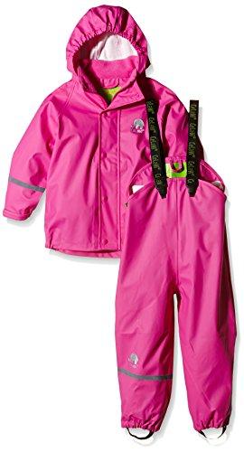 Celavi Mädchen Regenmantel Gr. 120 Pink (Real Pink )