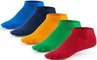 10 Paar Sneaker Socken von Mat & Vic's | Cotton classic schwarz weiß jeans blau grau grün rot rosa pink lila braun beige...