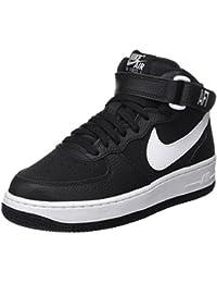 reputable site aa1ab 63593 Nike Jungen Air Force 1 Mid (Gs) Basketballschuhe schwarz