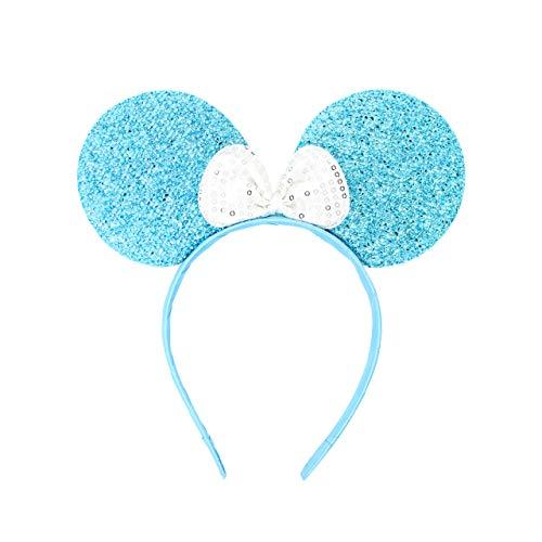 Micky Minnie Maus Ohren, Haarband, Haarband, Kostüm, blau} Junggesellinnenabschied, Halloween, Kostüm, Mädchen Geburtstag Party
