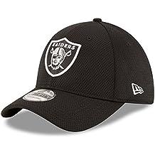 New Era Sideline Tech 39Thirty Oakrai Otc - Gorra Línea Oakland Raiders para hombre, color negro, talla S-M