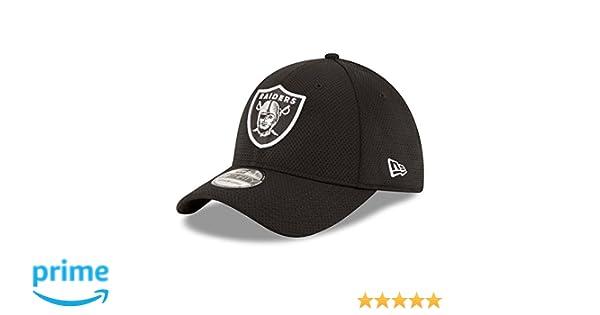 New Era Caps Nfl Sideline Tech 39thirty Okland Raiders Black  Amazon.it   Sport e tempo libero 3edad677498d