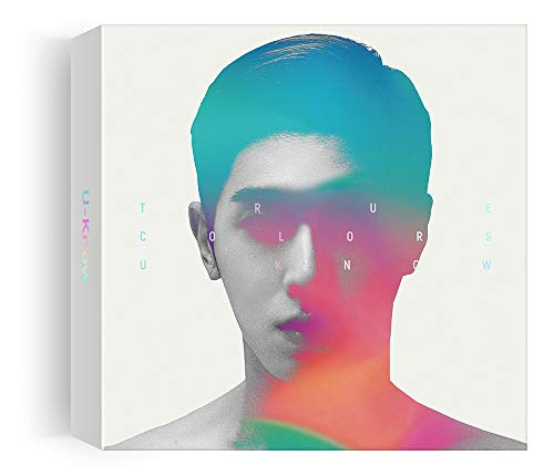S.M [KIHNO Album] U-Know TVXQ - True Colors (1. Mini-Album) CD + Fotobuch + gefaltetes Poster + doppelseitiges Extra Fotokartenset