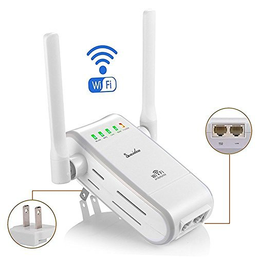 Seaidea Wifi Router 300Mbps Wireless Long Range Extender Repeater 802.11n/g/b Wireless-N Mini Network Amplifier Signal Booster Access Point Support AP Client and Bridge Modes Home Internet Service  available at amazon for Rs.4239