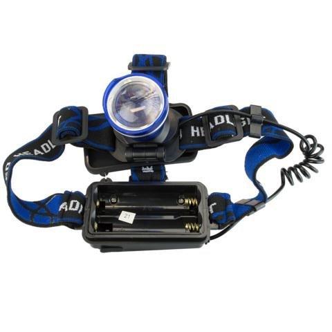 LED Kopflampe Stirnlampe FL-15-1 CREE T6 10 Watt Power LED Lampe 1000 Lumen Aluminiumgehäuse Zoomfunktion wasserdicht IP65 led light von Kobert-Goods