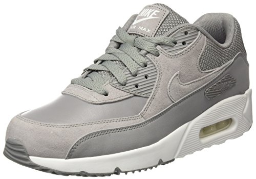 Nike Air Max 90 Ultra 2.0 Leather, Baskets Homme, Beige (Dust/Dust-Summit White), 44.5 EU