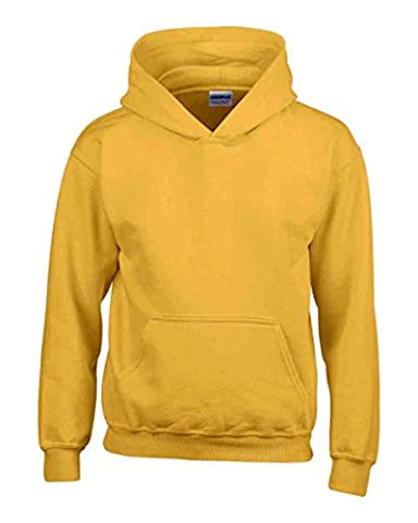 Ages 1-15 Boys Girls Plain Fleece Hoodie Unisex Childrens Hooded Sweatshirt Pullover Hoody 30+ Colours