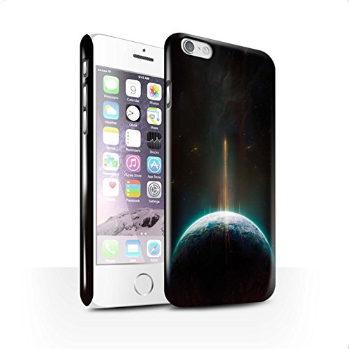 Offiziell Chris Cold Hülle / Glanz Snap-On Case für Apple iPhone 6S / Phönix/Raumzeit Muster / Galaktische Welt Kollektion Phönix/Raumzeit