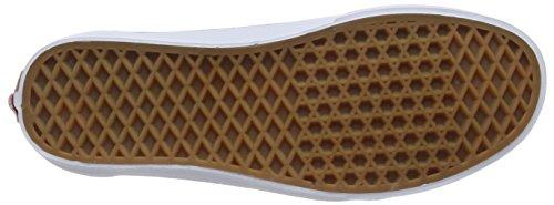 Vans Brigata, Sneakers Basses mixte adulte Rouge (Port Royale/True White)