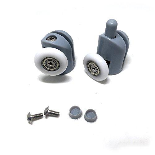 41e%2B1gTDhTL - Rodamientos para mampara de ducha, 8 unidades, piezas de repuesto de 25mm de diámetro