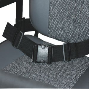 Kozee Komforts Safety Lap Strap For Scooter or Wheelchair, Adjustable Length With Side Release Buckle - Style 1 Or Style 2