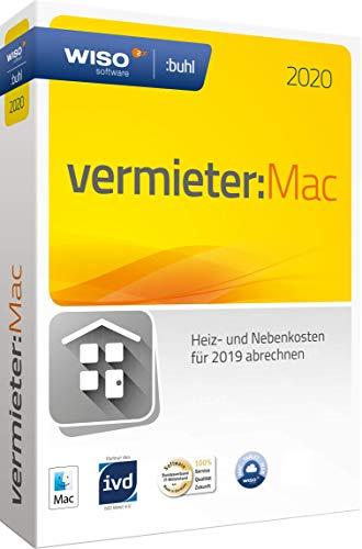 WISO vermieter:Mac 2020 - Miet-Nebenkosten auf dem Mac abrechnen 2019|2020|1 Gerät|1 Jahr|Mac|Disc|Disc (WISO Immobilien Software)