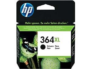 CN684EE#BA1 HP Ink Crtrg 364XL Schwarz HP 364 XL für HP Photosmart D5460, B8550, C6380, C6324,C5324, HP Deskjet 3070A, 3520, HP Officejet 4620, 4622. Ländersprachoptionen - GE FR NL