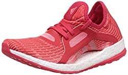 b7f7bd86f2a adidas kvinnors Pureboost X löparskor, röd (Rojray / Rosvap / Ftwbla), 40