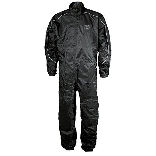 Hein Gericke Basic II Regenkombi schwarz XS - Motorrad Regenbekleidung