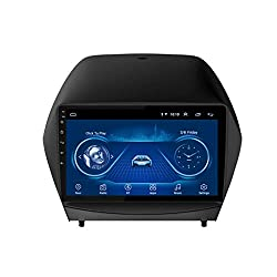 WY-CAR 2.5D IPS Android 8.1 4 Kern A7 1.3GHz Auto DVD Radio GPS Navigation Für Hyundai IX35 Tucson 2010-2013 Stereo Audio Navi Video Mit Bluetooth Anrufe WiFi Touchscreen