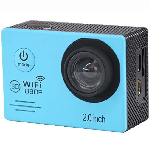 Sportkamera sj5000 4k Bewegungskamera Motion Kamera dv 1080p 720p Outdoor-Fernbedienung wasserdichte Kamera 120 Grad Blickwinkel,Blue