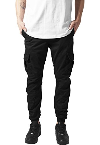 Cargo Jogging Pants L Nero
