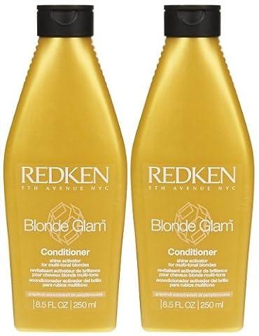 Redken Blonde Glam Conditioner - 8.5 oz - 2 pk by Redken