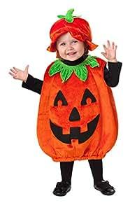 New Amscan Toddlers Halloween Pumpkin Patch Cutie Girls Fancy Dress Costume