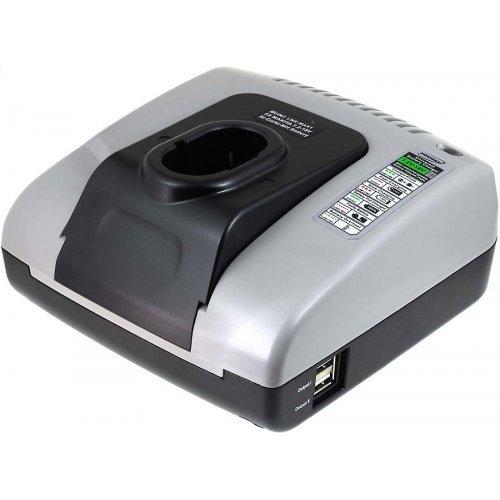 Caricabatteria Powery con USB per trapano avvitatore Makita 6271D