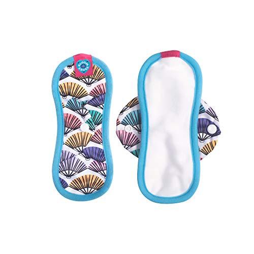 Flirt Mini (Bloom & Nora Wiederverwendbare Damenbinden Single Pad Mini Flirt, Noras)