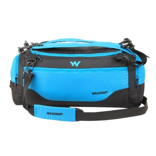 Wildcraft Polyester 9.5 inch Alg_Blue Travel Duffle (11332)